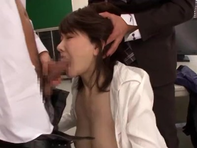 Asian Babe Fucked In Office