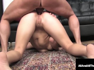 Super Hot Blonde Teen Shay Golden Fucked In Tiny Butthole!
