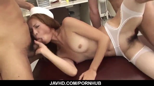 Shiori Ayase loves cock in her furr - More at javhd.net