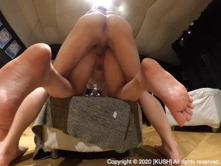 japanese amateur couple creampie bigtits doggy