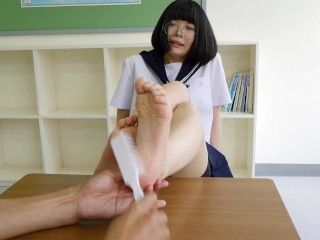 Tickle Japanese School Girl