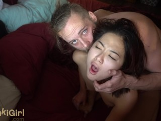 Passionate ANAL and THROATFUCKING my chinese wife (@andregotbars)