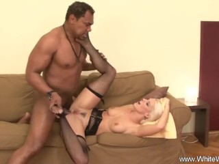 Hard Fucking With BBC For Wifey For Arousement Session