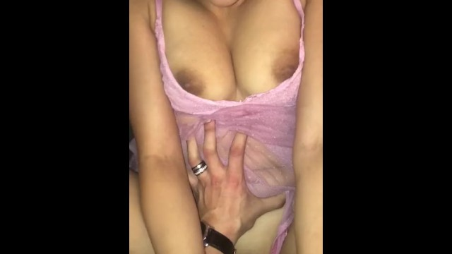 Wife's late night cum session]>