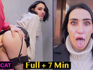 Risky Anal Sex with Facial Cum Walk - Public Agent Pickup Russian Student to Street Fuck - FULL ver.