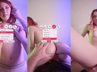 mobile porn game with redhead Elin Flame