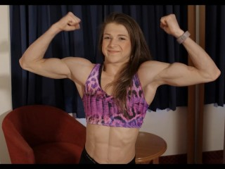 Emily brand super muscle girl