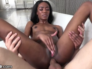 XEmpire Ebony Beauty Anal Orgasms