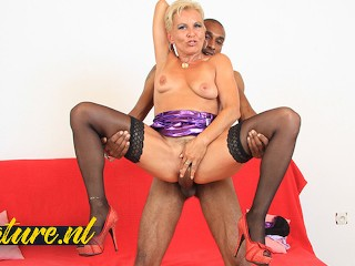 Blonde MILF Elenia is Always In The Mood For a BBC