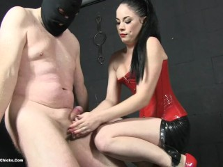 sophia ballbusting in no escape