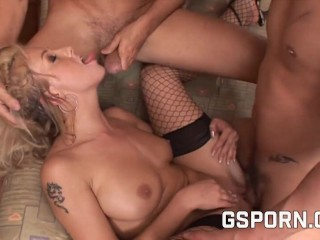 Orgy group sex for hot sensations