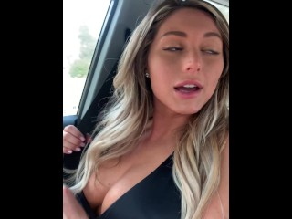 Big Tits Blonde Army Babe KAYLEY GUNNER is Locked and Loaded