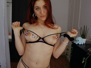 Trish Collins does a sexy lingerie Try-on - ONLYFANS PREVIEW.