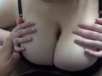 Another huge boob clothed titfuck!