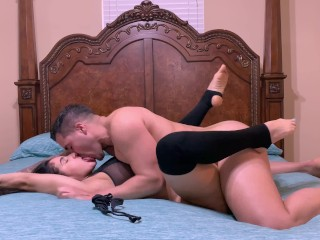Fit big ass MILF gets fucked twice by stud