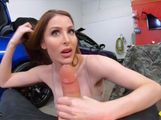 Roadside - Busty MILF Gets Fucked By Car Mechanic