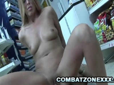Linda - Sex Addicted Mature Euro Fucked By The Store Clerk
