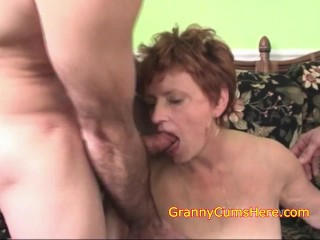 My Granny Can Get NASTY with a Bunck of Dicks