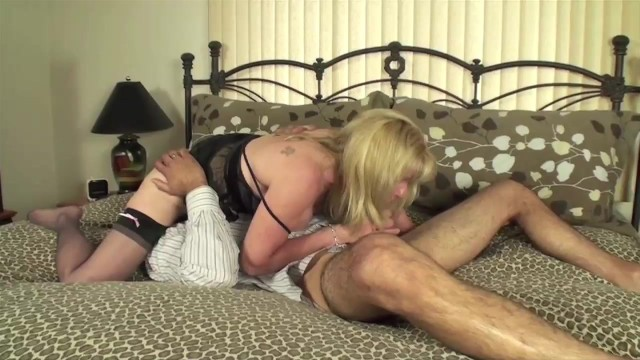 Mature Petite Woman Sucks & Fucks a Young Local Fan