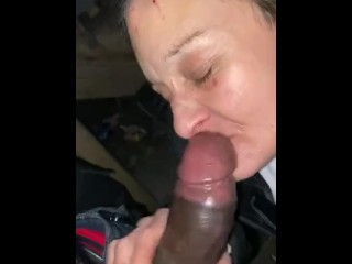 White granny suck bbc and refund 20$