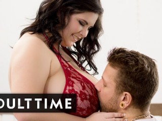 ADULT TIME BBW Mischievous Kitty Tries On Lingerie For Her Guy