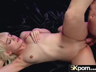 5KPorn - Tiny Blonde Spinner Naomi Nash In Ultra HD Fucking