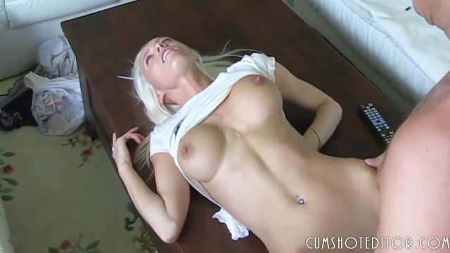 Young German Blonde Amateur Filled With Cum At Home POV