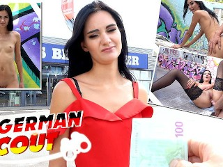 GERMAN SCOUT - RUSSIAN TOURIST GIRL I PUBLIC SEX IN BERLIN I PICKUP AND LOST PLACE FUCK