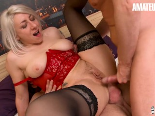 AmateurEuro - Super HOT MILF Slut Tests All Kinds Of Toys And Double Anal